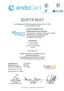 Zertifikat EPZ