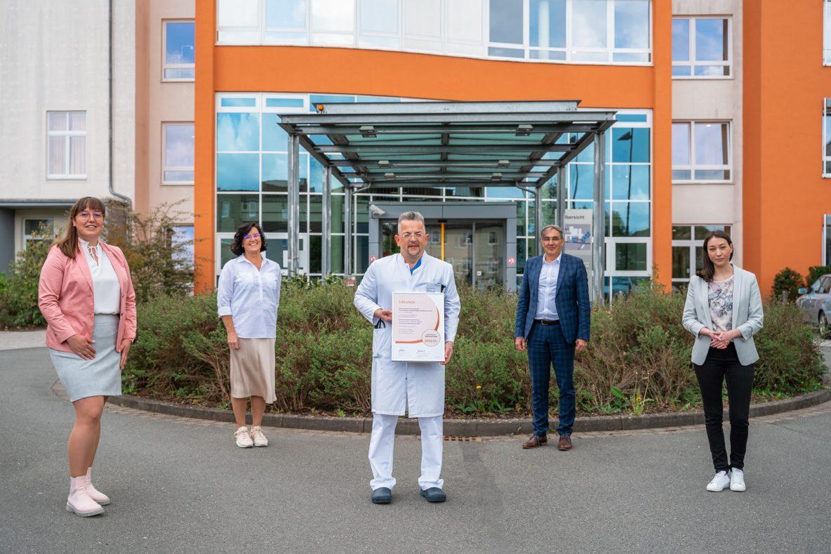 Zertifizierung zum Diabeteszentrum DDG